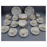 Weir China dinnerware set