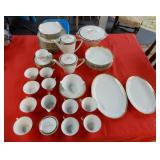 Lot of dinnerware, Konigl.pr.Tettau