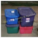 Plastic Tubs & Crate