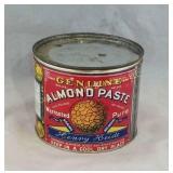Almond Paste Tin