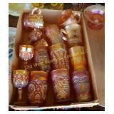 Box of Carnival Glasses