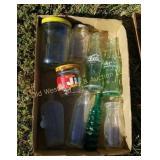 Box of Bottles & Jars
