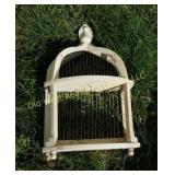 Bird Cage Wall Hanging