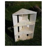 (2) Crate Corner Shelves