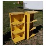 (2) Shelves