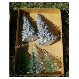 Box of Christmas Trees