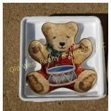 (3) Collectible Bear Plates