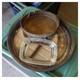 Silver Tray & Miscellaneous