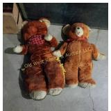 (2) Teddy Bears
