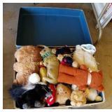 Suitcase of Stuffed Animals