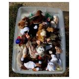 Tray of Ty Babies