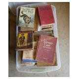 Tray of Books