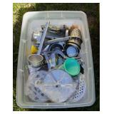 Tray of Kitchen Items