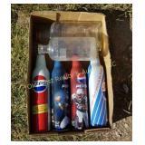 Box of Bottles - Pepsi Bottles Are Full