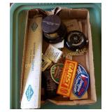 Box of Advertising Items