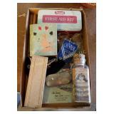 Box of Antique Items