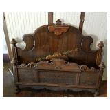 Antique Full Bed Frame