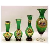 4 Pc Vase lot