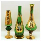 3 Pc Vase lot