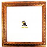 Daffy Duck Etching w/ Certificate of Authenticity