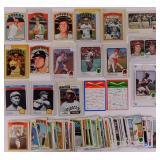 1972, 73, 74 Topps Baseball cards