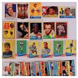1960, 62, 63 Topps Baseball cards