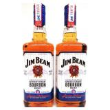 2 x Game 7 Batch Jim Beam Bourbon