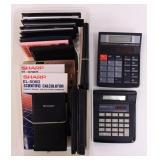 Lot of Calculators