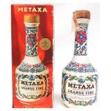 Metaxa 4/5 qt, 92 Proof in box