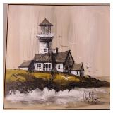 Large Modern Lighthouse Canvas