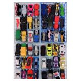 Case of Hot Wheels Cars