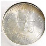 1 oz silver Mexican coin or round