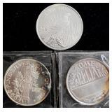 Coins - 1 oz silver rounds