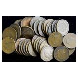 Coins - Indian head pennies (39)