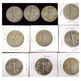 Coins - 10 Walking Liberties