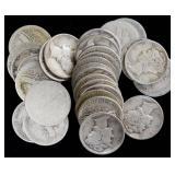 Coins - 30 Mercury Dimes