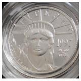 Coin - 1/10 oz platinum coin /(1997)