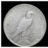 Coins - 1927d Peace Dollar