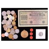 Coins - Foreign Currency, 1955 Nickel