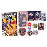 Comics, Presidential & Campaign Buttons