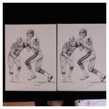 Vince Evans Sketches - 2