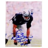Willie Brown #24 Raiders Signed Photo