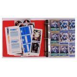 Football Card Album & Joe Montana Poster
