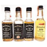Lot of Mini Bottles - 12