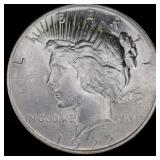 Coins - 1922 AU Peace Dollar