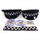CPD Hats, 3 Patches & Hat Band