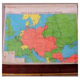 Wall Map - WWI