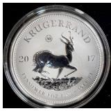 Coin - 2017 South African Krugerand - 1 oz. Silver