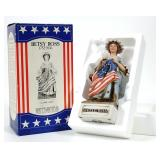 McCormick Betsy Ross Whiskey Decanter