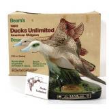 1983 Ducks Unlimited Beam Decanter